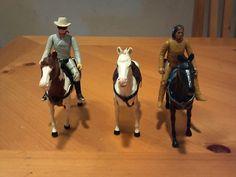 Vintage LONE RANGER 1980 Gabriel Action Figures lot Lone Ranger, Tonto w/ Horses The Lone Ranger, Wild West, Vintage Toys, Gabriel, Action Figures, Horses, Ebay, Fashion, Moda