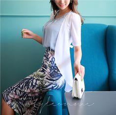 Korean Women`s Fashion Shopping Mall, Styleonme. Korean Women, Floral Prints, Tropical, Asia, Sexy, Skirts, Shopping, Dresses, Park