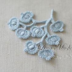 Irish Crochet Lab flowers