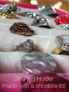 Can Can Dancer: DIY Ring Holder