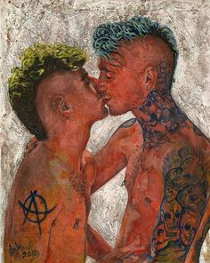 Homoerotic Art by Fernando Carpaneda