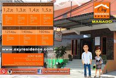 Oxy Residence Manado bertempat di Jl. Krida 9 - Malalayang atau Hubungi 0852 - 2071 - 7128.