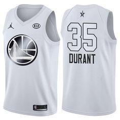 477d48877ace Nike Warriors Kevin Durant Jordan Brand White 2018 All-Star Game Swingman  Jersey