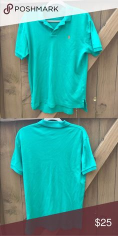Polo by Ralph Lauren green polo shirt size S Polo by Ralph Lauren green polo shirt size S Polo by Ralph Lauren Shirts Polos