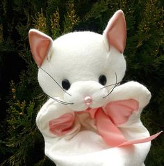 Maňásek kočička Amálka