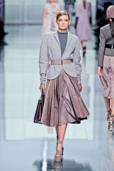 The pastels in this collection... Dior Fall12 #PFW