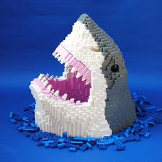 Say hello to the Great White Shark! Another incredible MOC by anactionfigure. #mocschosens #mocnation #mocsub