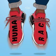 """1,430 Likes, 4 Comments - Made • By • RvK (@madebyrvk) on Instagram: """"Adidas NMD """"Human Race"""" """""""