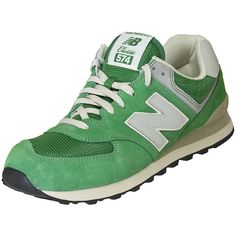 New Balance ML 574 DGR Suede/Mesh green ★★★★★