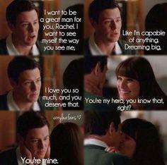 #Glee - Finn & Rachel