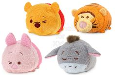 Disney Winnie the Pooh and Friends ''Tsum Tsum'' Plush  Code: 02188 To order: http://www.shopaholic.com.ph/new.html#!/Disney-Winnie-the-Pooh-and-Friends-Tsum-Tsum-Plush/p/59484139 Pooh gives a little wink while keeping one eye open for bees, because bees mean hunny. Next to bouncing, winking is what Tiggers like to do best. Winnie the Pooh's big hearted companion, Piglet, looks cuter than ever as he gives a little wink.