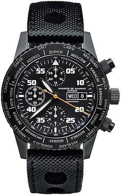 Maurice de Mauriac - Watches - Diver Series - Chronograph Diver