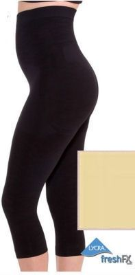 High-Waist Shapewear Capri in Black or Nude.  See more at http://shrsl.com/?~5mcg or http://www.figuresque.com/Plus-Size-High-Waist-Shapewear-Capri-p/ns-584-sp.htm?SSAID=714532&utm_source=SAS&utm_medium=Affiliate