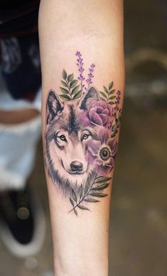 50 Of The Most Beautiful Wolf Tattoo Designs The Internet Has Ever Seen awesome. - 50 Of The Most Beautiful Wolf Tattoo Designs The Internet Has Ever Seen awesome wolf tattoo ideas - Wolf Tattoo Design, Tattoo Designs, Tattoo Ideas, Girls With Sleeve Tattoos, Tattoo Girls, Girl Tattoos, Tattoos For Guys, Woman Tattoos, Tatoos