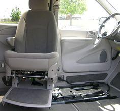 Eureka Solutions - Siège de transfert Vehicle conversion Adaptation automobile 1-866-562-2555