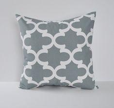 Pillow Cover Decorative Pillows Throw Pillows Grey Pillow Moroccan Pillow 16x16 18x18 20x20 22x22