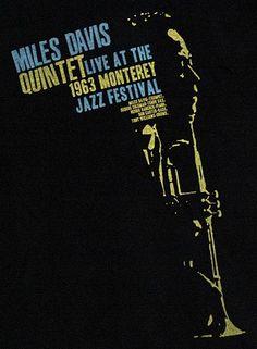Miles Davis at Monterey.  1963.