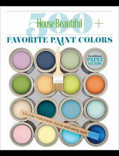HB 500 paint colors