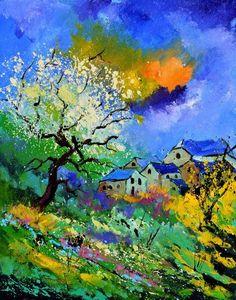 Pol Ledent(1952~)「Summer 514070」