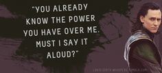 """Loki's Dirty Whispers - Submission: """"You already know the power you haveover me. Must I say it aloud?"""""""