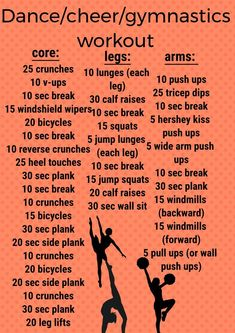 this is an amazing workout if you are a cheerleader/dancer/gymnast. I am a dance… this is an amazing workout if you are a cheerleader/dancer/gymnast. I am a dancer and a cheerleader and I do this 6 days a week. Cheerleading Workouts, Cheer Workouts, Gymnastics Workout, Dance Workouts, Cheer Abs, Gymnastics Tips, Gymnastics Stretches, Cheer Diet, Dancer Body Workouts