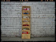Holy Funk - Industrial Hanging Magazine Rack, $149.00 (http://www.holyfunk.com.au/furniture/industrial-hanging-magazine-rack/)