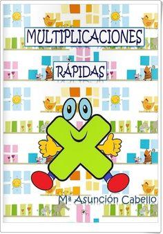 """""""Multiplicaciones rápidas"""", de María Asunción Cabello, es un cuaderno que constituye un magnífico instrumento para trabajar con seguridad el conocimiento de las tablas de multiplicar. School Jobs, Dora, Math Multiplication, Maths, Kids Homework, School Worksheets, Spanish Language Learning, Math Workshop, Montessori Activities"""
