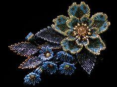 キラキラエキゾチックミニビーズプローチ #カザリ咲色 #ビーズ #ビーズフラワー #ビジュー #ハンドメイド #コサージュ #手作り #手芸 #アクセサリー #コスチュームジュエリー #bead #beads #bijou #beading #beadedflower #beadswork #beadwork #beadsph #bijoux #beaded #biser #corsage #handmade @【カザリ咲色】 Kazari-Sakuiro.jp