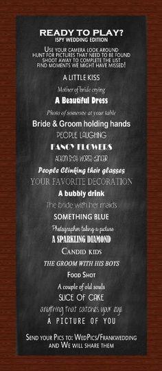 trendy wedding games for reception activities scavenger hunts Wedding Reception Checklist, Wedding Reception Activities, Fun Wedding Games, Reception Ideas, Wedding Bingo, Wedding Games And Activities, Outdoor Wedding Games, Reception Food, Wedding Coordinator