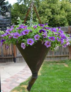 Marie Niemann's funnel full of flowers