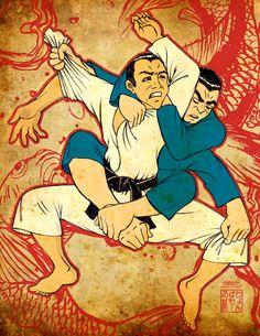 Jiu-jitsu grips