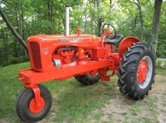 Gallery - Category: antique tractor 2012 - Picture: 1954 Allis Chalmers WD-45