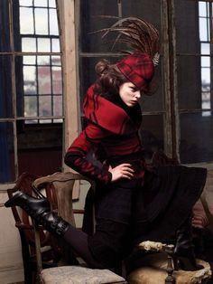 Coco Rocha by Ryoo Hyungwon for Harper's Bazaar Korea (August 2008).