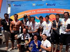 The champions of the Coop Sports Sand Soccer event out at Oceanside, CA.