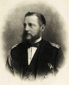 "Grand Duke Konstantin ""Kosti"" Nikolaevich Romanov (21 Sep 1827-25 Jan 1892) Russia. 8th Child of Tsar Nicholas I Pavlovich Romanov (Nikolai I) (1796-1855) Russia & Charlotte-Alexandra (Alexandra Feodorovna) (1798-1860) Prussia."