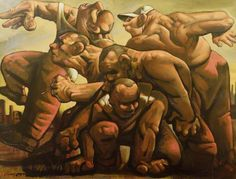 The Fleet - Peter Howson Peter Howson, Modern Art, Contemporary Art, Glasgow Museum, Postcard Art, Powerful Images, Art Uk, Your Paintings, Oil On Canvas
