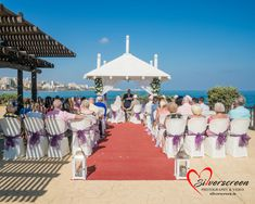 Dougie Farrelly - Silverscreen Photography & Video Sunset Beach Club Wedding with Purple Bows Sunset Beach Club, Sunset Beach Weddings, Video Photography, Wedding Photography, Benalmadena, Getting Married, Dolores Park, Spain, Bows