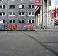 German street artist EVOL transforms banal urban surfaces into miniature lifelike buildings. He is like an urban planner, but unlike the others, he creates a city within the city.The artist uses complicated stencils to quickly transform powerboxes, and other worn urban surfaces into miniature apartment buildings or other structures.