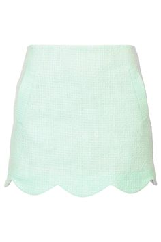 Boucle Scallop Hem Skirt - View All Sale - Sale & Offers - Topshop USA