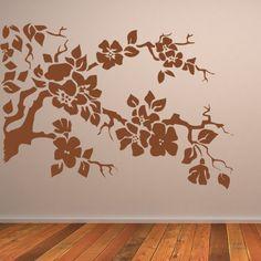 Nature Wall Art | tree-branches-wall-art-sticker #wallarts #wallstickers
