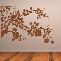 Nature Wall Art | tree-branches-wall-art-sticker #wallarts #wallstickers