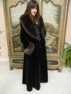 Designer Fisher Fur Sheared Beaver Coat not Mink | eBay