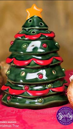 """Scentsy 2013 November Warmer of the Month, """"Christmas Tree"""".  To order rebeccaamble.scentsy.us/"""