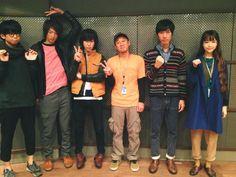 """タカハシマイ on Twitter: """"ありがとうございました!""""@cnr_official: 11月15日(金) 22:00〜24:00オンエア ABCラジオ「ガチ・キン」にメンバー全員で出演いたします!写真はパーソナリティーのSoCoさんと。大阪の皆さま是非お聴きくだ!http://t.co/LNxqVq1mt0"""""""""""