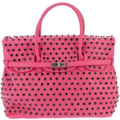 MIA BAG studded tote ($380) ❤ liked on Polyvore