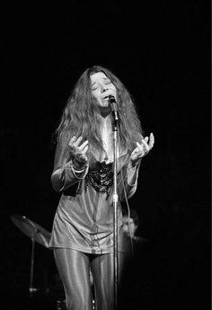 Janis Joplin ~ June 1969 at Royal Albert Hall in London, England  ♥♥♥♥