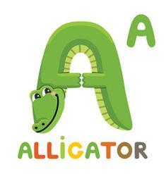 Alfabeto Animal, Camping Crafts For Kids, Abc For Kids, Animal Alphabet, Learning The Alphabet, Cute Illustration, Teaching English, Vocabulary, Photo Editing