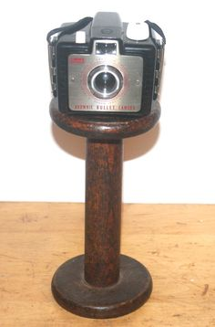 1950s Kodak Brownie Bullet Camera Industrial by AntiqueAlchemyShop