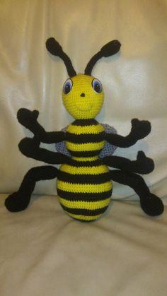 My crotchet bee creation