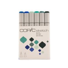 Kit Copic Sketch 6 Cores (vários modelos) Copic Sketch, Copics, Primary Colors, Colour Combinations, World Of Color, Models, Copic Markers